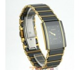 Rado Integral Golden & Black Watch For Men