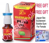 Maximizer Plus Oil For Male Panis Enlargement & Erection Treatment