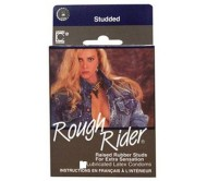 Rough Riders Dotted & Studded Condoms (12 Condoms Pack)