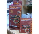 Cobra Long time delay cream with condoms
